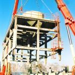 Demolición torre refrigeración