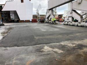 Construcción de plataforma para transporte de grúa de gran tonelaje